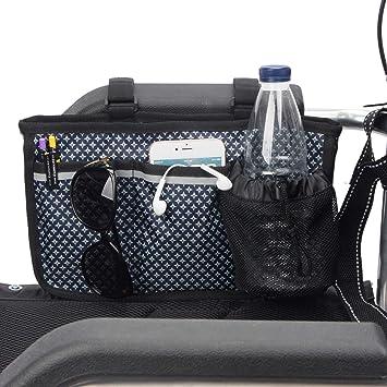 Amazon.com: Bolsa lateral para silla de ruedas con ...