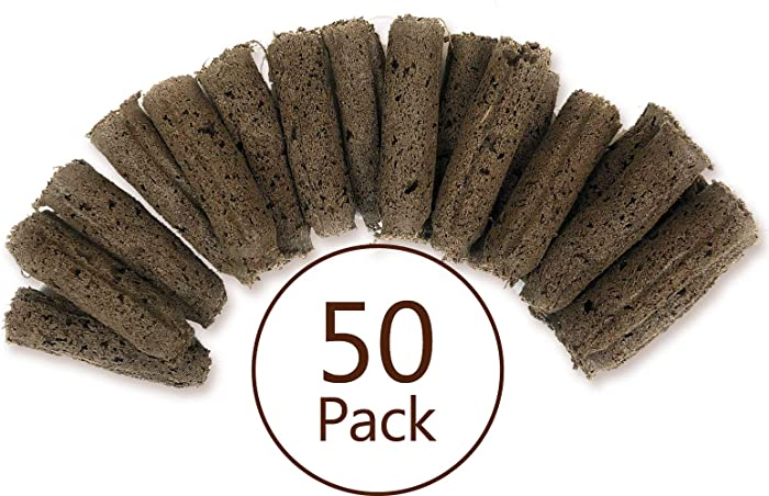 EZ-gro Replacement Sponges for Aerogardens (50 Pack) | Compatible with Aerogarden Pods | Compatible Seed Pod Replacements for All Aerogarden Grow Anything Kits and Aerogarden Seeds Pods