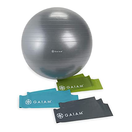 Gaiam Resistance Cord Stretch /& Strengthen Increase Range of Motion