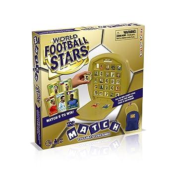 Top Trumps- Juego de Tablas diseño de Estrellas de fútbol, (Winning Moves 32209)