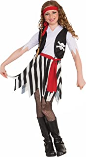 Forum Novelties Little Lady Buccaneer Costume Child Small  sc 1 st  Amazon.com & Amazon.com: US Toy Kids Pirate Costume: Toys u0026 Games