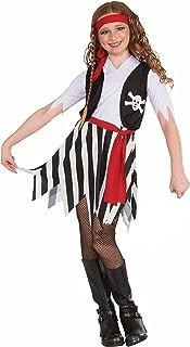 Forum Novelties Little Lady Buccaneer Costume Child Small  sc 1 st  Amazon.com & Amazon.com: US Toy Kids Pirate Costume: Toys u0026 Games
