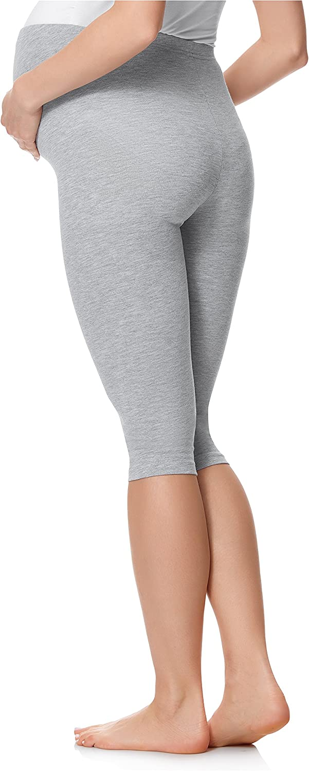 Be Mammy Womans 3//4 Maternity Leggings Tights BE20-229