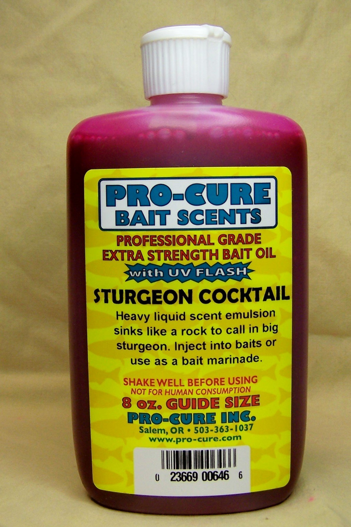 Pro-Cure Sturgeon Cocktail Heavy Liquid, 8 Ounce