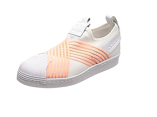 official photos b3765 76e72 adidas Superstar Slip On W Scarpe da Fitness Donna, Bianco (Blanco 000) 36