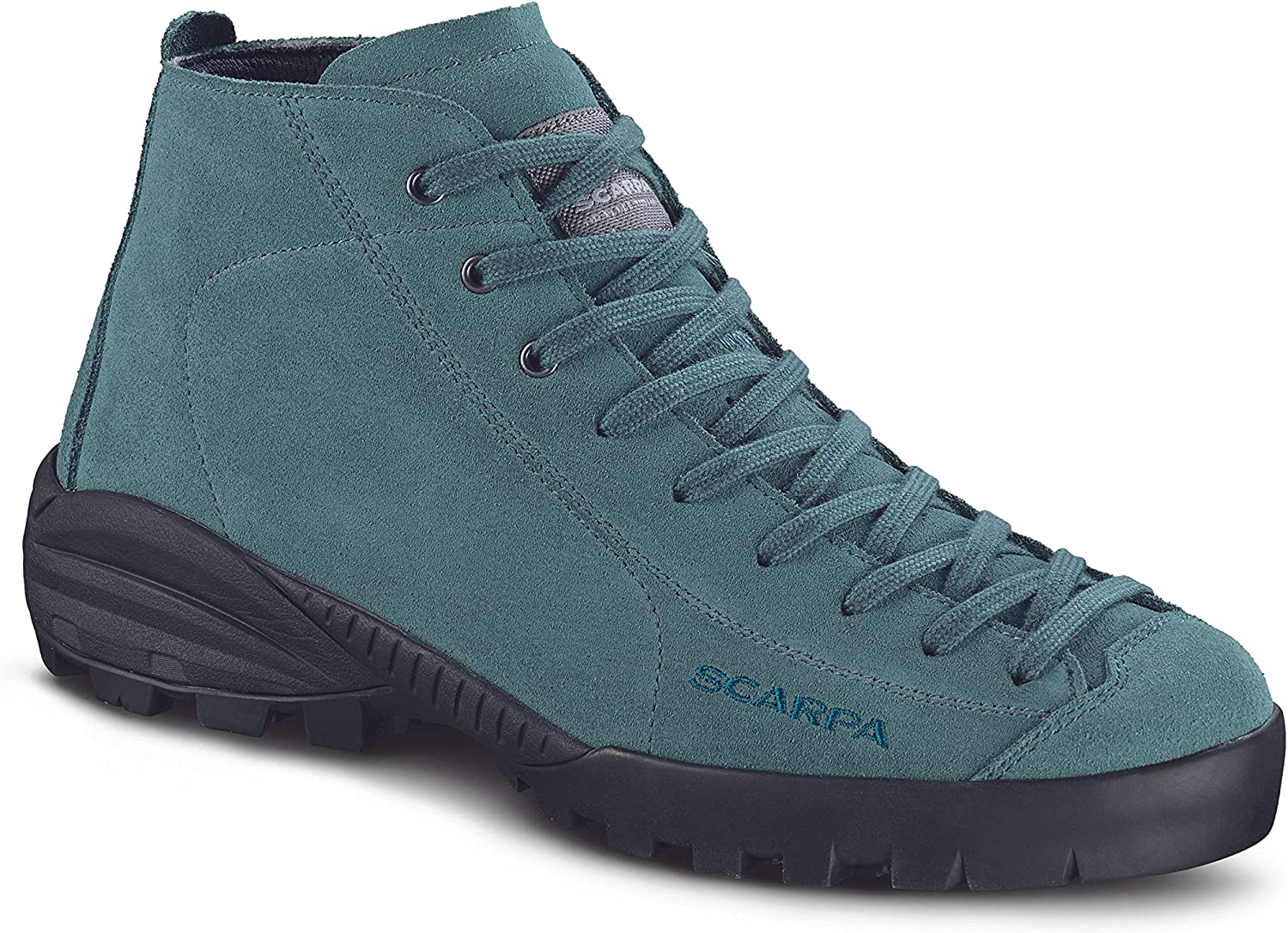 authorized site newest best selling Amazon.com : Scarpa Mojito City Mid Wool GTX nile blue 40 EU ...