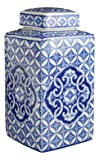 Festcool Classic Blue and White Porcelain Square