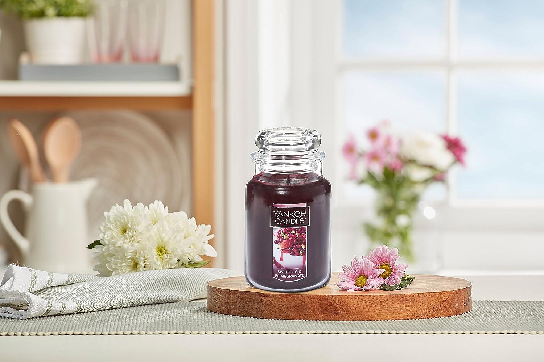 YANKEE CANDLE Company Sweet Feige und Granatapfel Kerzen Large Jar Candle rot 1556052Z