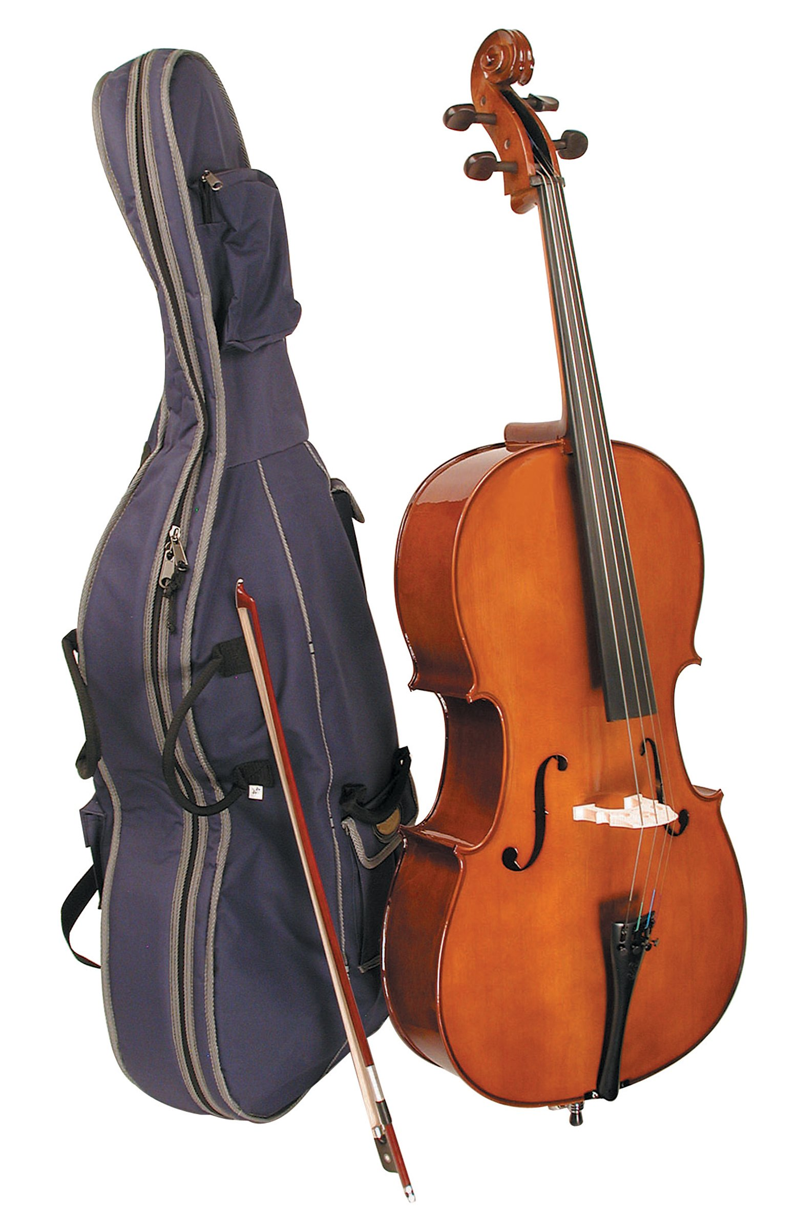 Stentor Student I Cello Outfit 1/2 (1102E2-1/2) by Stentor