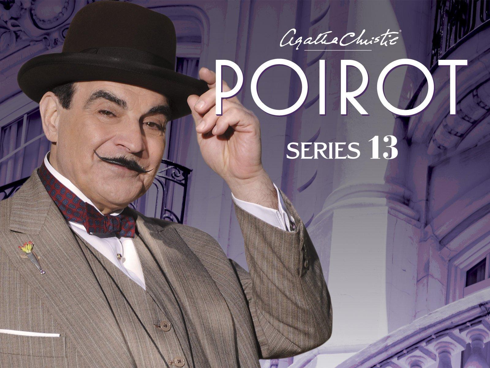 Amazon.com: Agatha Christie's Poirot, Series 13: David Suchet ...