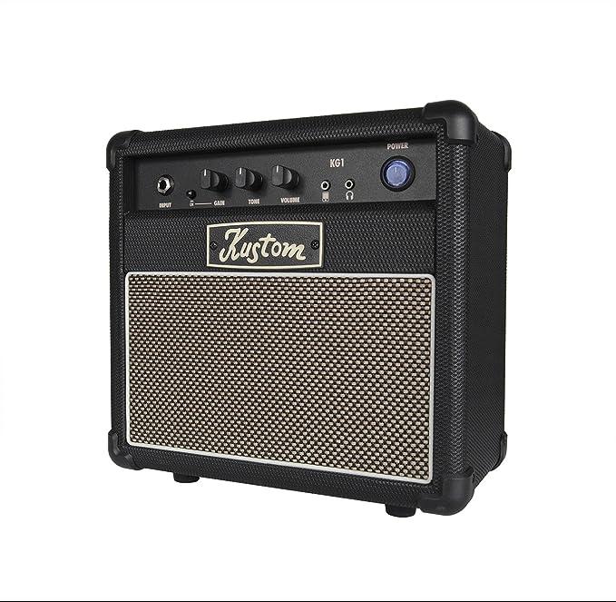 Kustom - Amplificador de guitarra KG-1: Amazon.es: Instrumentos ...