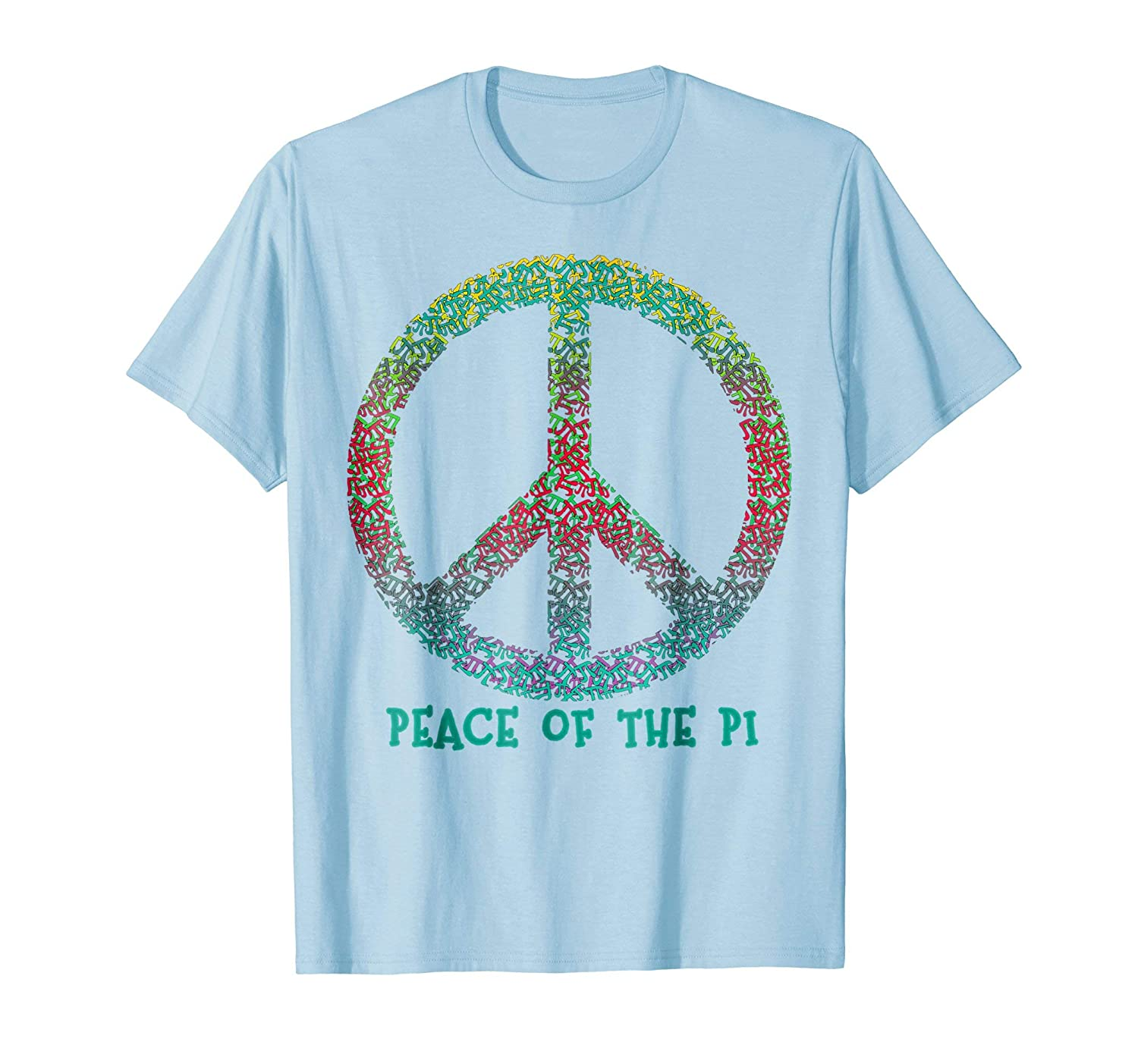 Amazon Pi Day Tee Peace Of The Pi Humorous Design Clothing