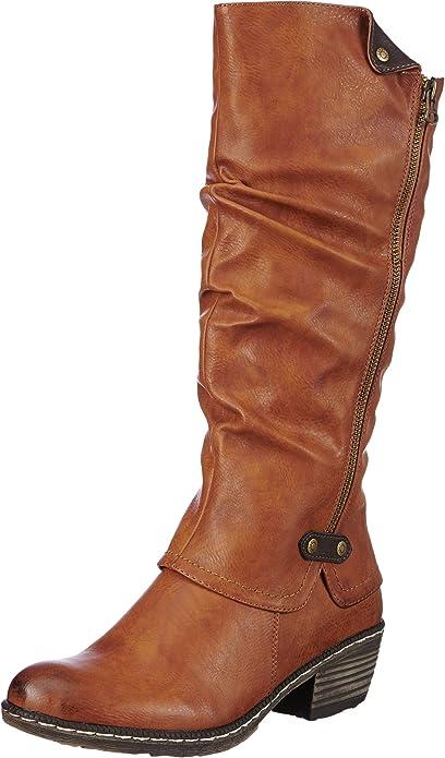 Rieker 93755 Damen Langschaft Cowboystiefel