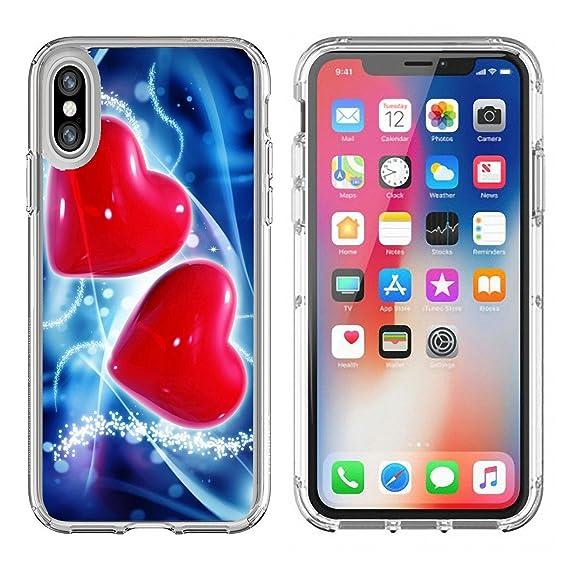 Amazon Luxlady Apple Iphone X Clear Case Soft Tpu Rubber