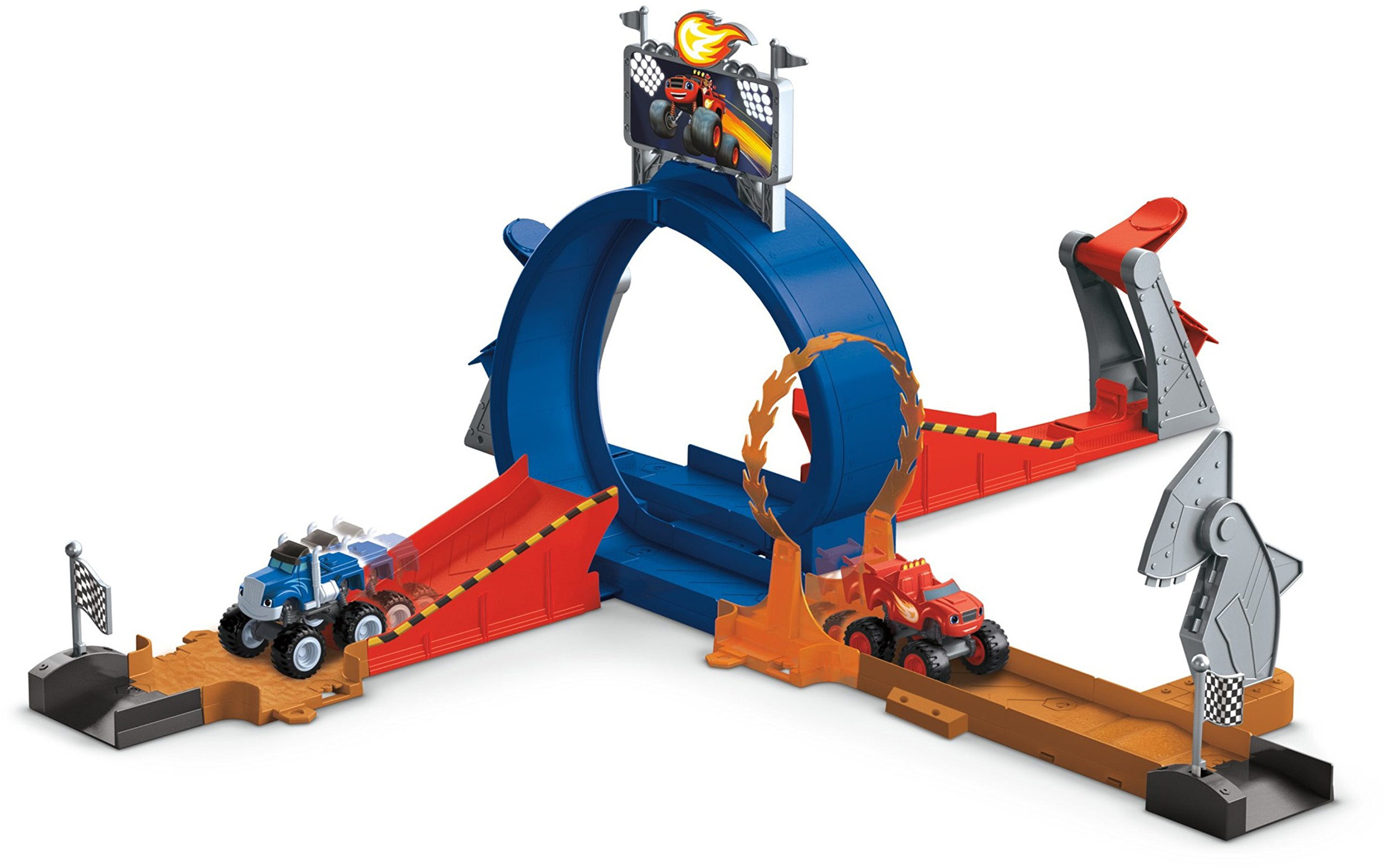Fisher-Price Nickelodeon Blaze & the Monster Machines, Monster Dome Playset [Amazon Exclusive]
