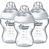 Tommee Tippee Closer to Nature Biberon 260ml, Plastica, 3 Pezzi