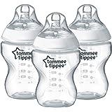 Tommee Tippee Closer to Nature - Biberón, 260 ml (pack de 3)
