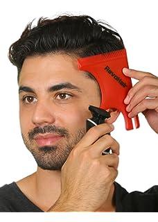 Amazon clipquik 16 2 inch clipper comb attachment revohair haircut tool multi curve hairline templatestencilguide for men publicscrutiny Choice Image