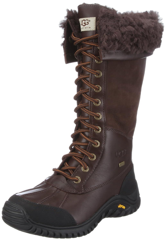 Ugg Womens Adirondack Tall Boots - Obsidian 8 / UK 6.5: Amazon.co.uk ...