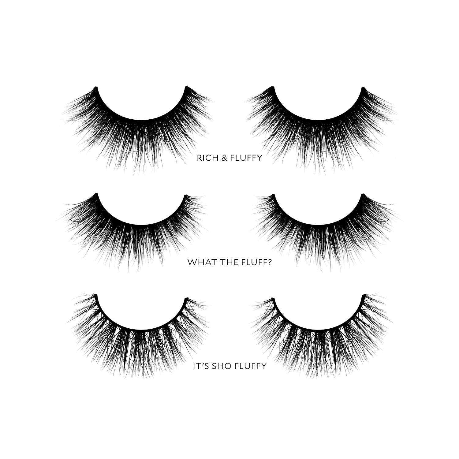 Amazon Velour Lashes Thick And Fluffy Collection 3 Pairs