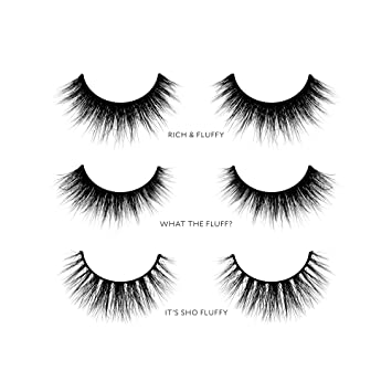 f991b1e5c2c Amazon.com : Velour Lashes - 'Thick and Fluffy' Collection (3 Pairs ...