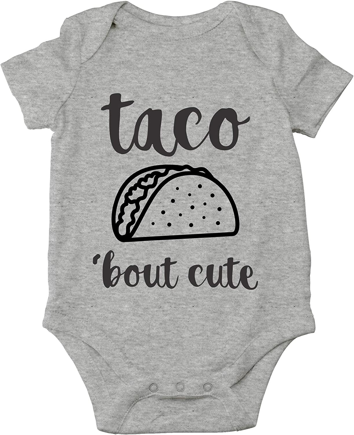 AW Fashions Taco 'Bout Cute - Funny Lil Adorable Tacos Mexican Food Lover - Cute One-Piece Infant Baby Bodysuit