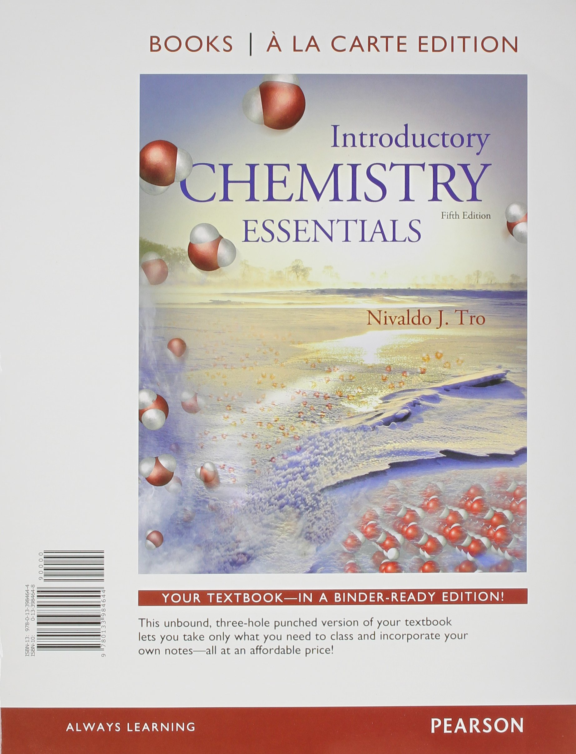 Introductory Chemistry Essentials, Books a la Carte Plus Mastering Chemistry  with eText -- Access Card Package (5th Edition): Nivaldo J. Tro:  9780134026886: ...