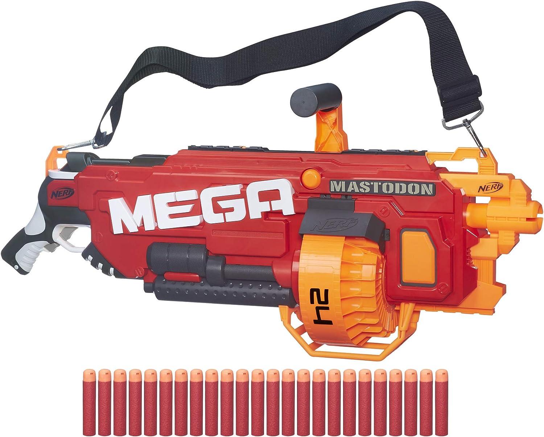 Nerf - Lanzadardos Mega Mastodon (Hasbro B8086EU4)