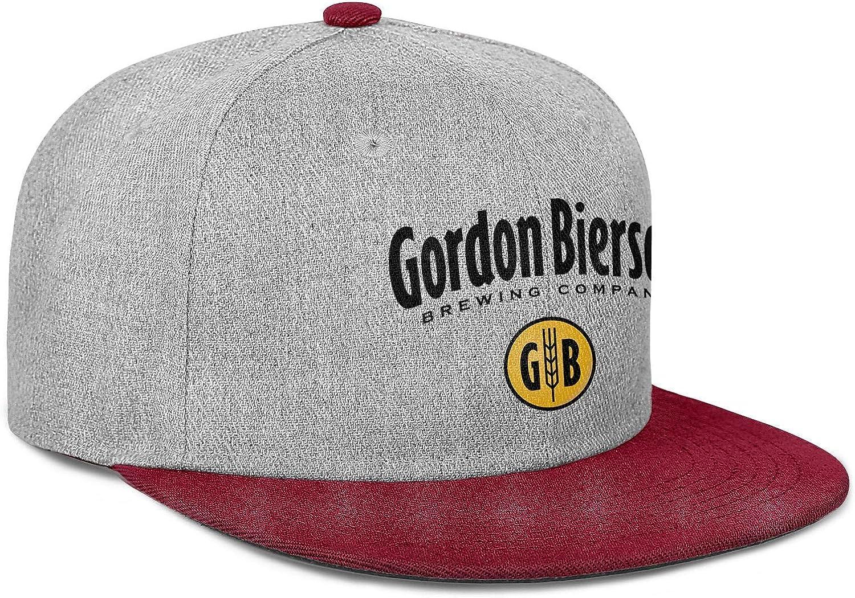 QWQD Gordon Biersch Blonde Bock1 Men Women Wool Cool Cap Adjustable Snapback Sports Hat