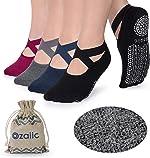 Non Slip Socks for Yoga Pilates Barre Fitness Hospital Socks for