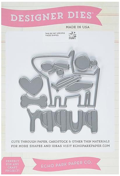 Amazon com: Echo Park Paper Company BK97041 Scrapbooking Die Cut