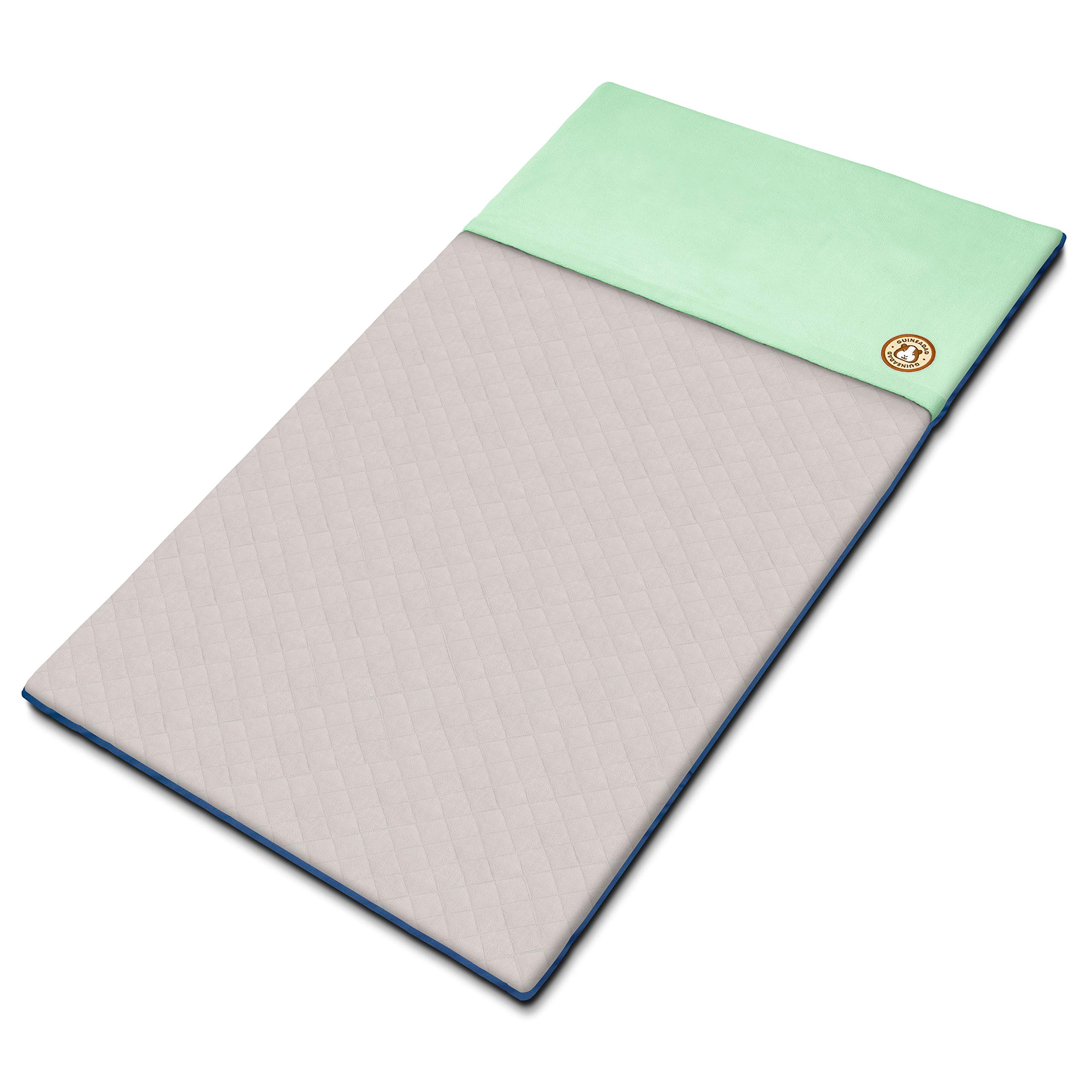 GuineaDad Fleece Liner 2.0 | Guinea Pig Fleece Cage Liners | Guinea Pig Bedding | Burrowing Pocket Sleeve | Extra Absorbent Antibacterial Bamboo | Waterproof | Available in Various Cage Sizes