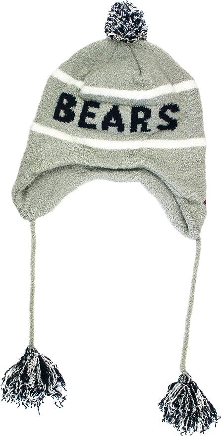 Amazon.com   NFL New Era Chicago Bears Team Tassel Knit Hat - Gray ... cfc08f90bba