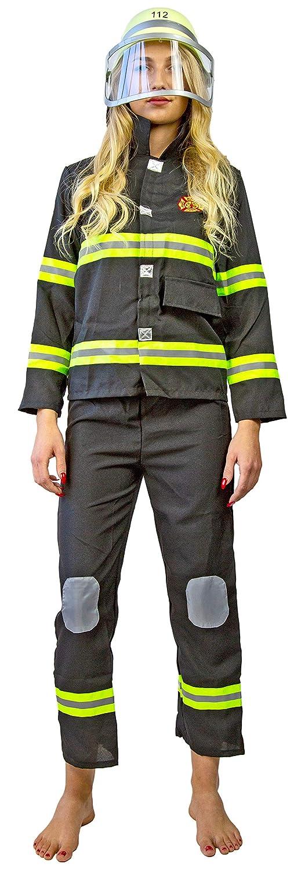Feuerwehr-Helm Feuerwehr-Mann Kinder-Helm Feuerwehr-Kost/üm Fasching Karneval Visier Gr/ö/ßen Verstellbar ab 3 Jahren