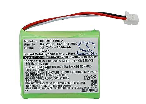 vintrons batería de repuesto para OMRON HBP-1300 tensiómetro
