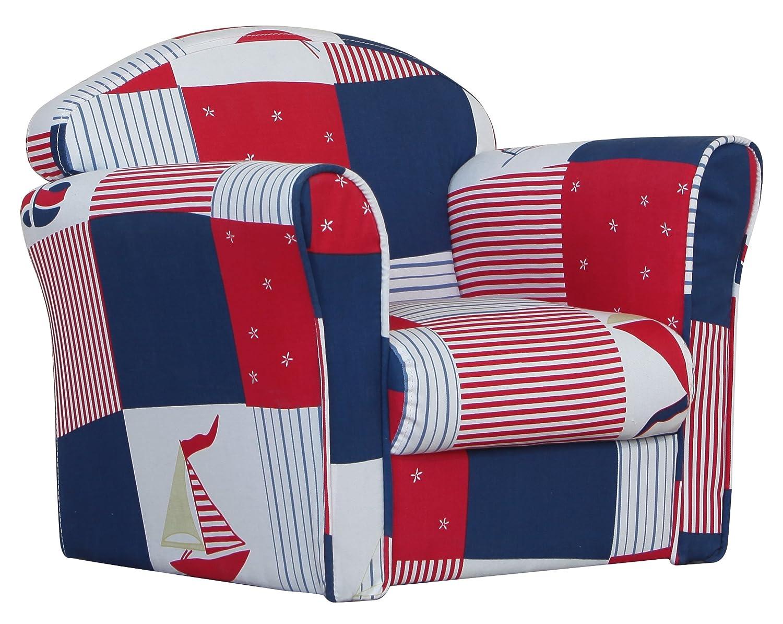 Kidsaw Mini Armchair (Blue Patchwork) MABW7