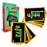 Star Right Education Division Flash Cards, 0-12, 52 Cards, with 1 Ring, for Ages 6 and up