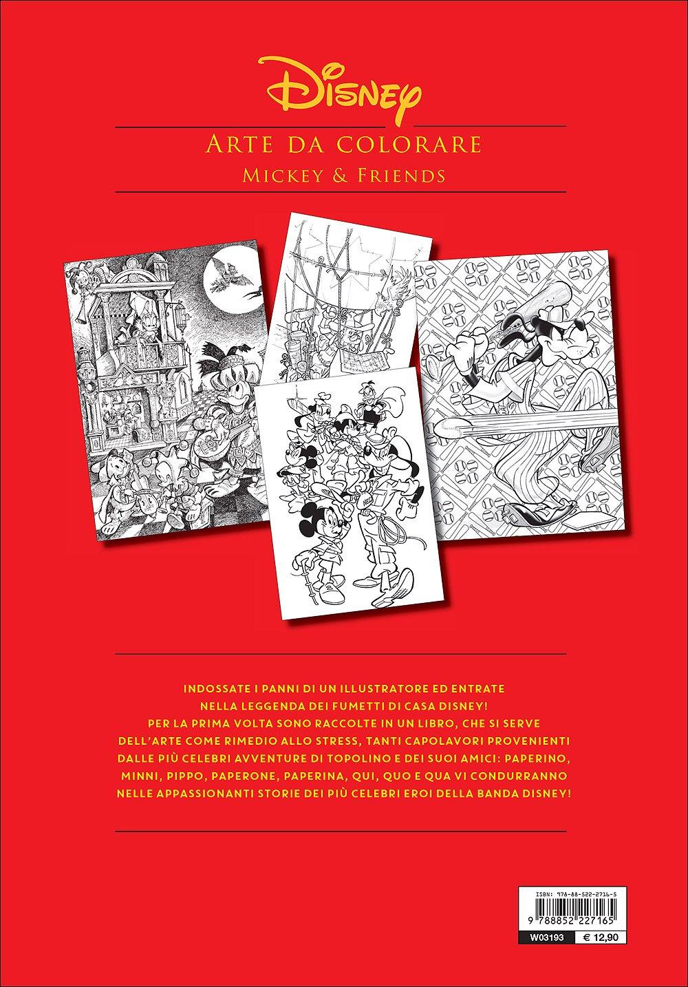 Disney Arte Da Colorare Mi 9788852227165 Amazon Com Books