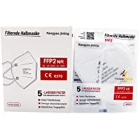 FFP2 beschermmasker - 5-laags - CE0370 - Dermatest: zeer goed door Tradeforth GmbH