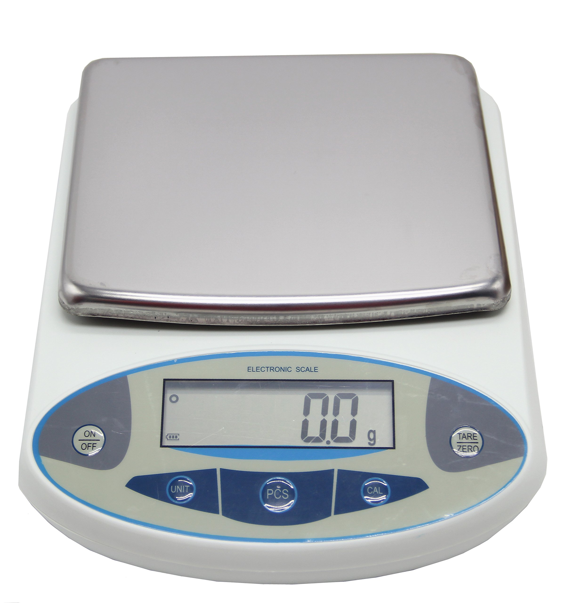 BAOSHISHAN 20kg/0.1g Analytical Electronic Balance Lab Digital Balance Scale High Precision Balances Jewelry Scales Kitchen Precision Weighing Pan Size=180x160mm (0.1g, 20kg)