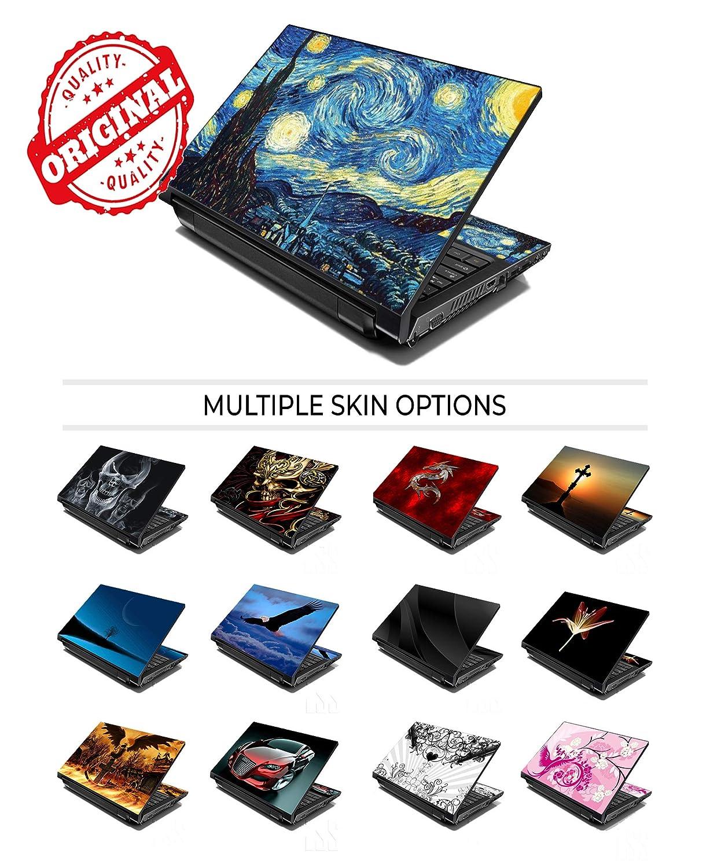 16 15,6 et HP 2 repose-poignet comprises Dell Apple Lenovo Asus Compaq, Eclipse Terre et Lune Acer LSS ordinateur portable 15 et 15,6 Motif Skin autocollant en vinyle Compatible 13,3 14