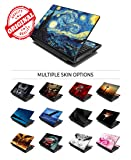 """LSS Laptop 17-17.3"""" Skin Cover with Colorful Red"""