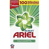 Ariel Vollwaschmittel Pulver, 6,5 kg, 1er Pack (1 x 100 Waschladungen)