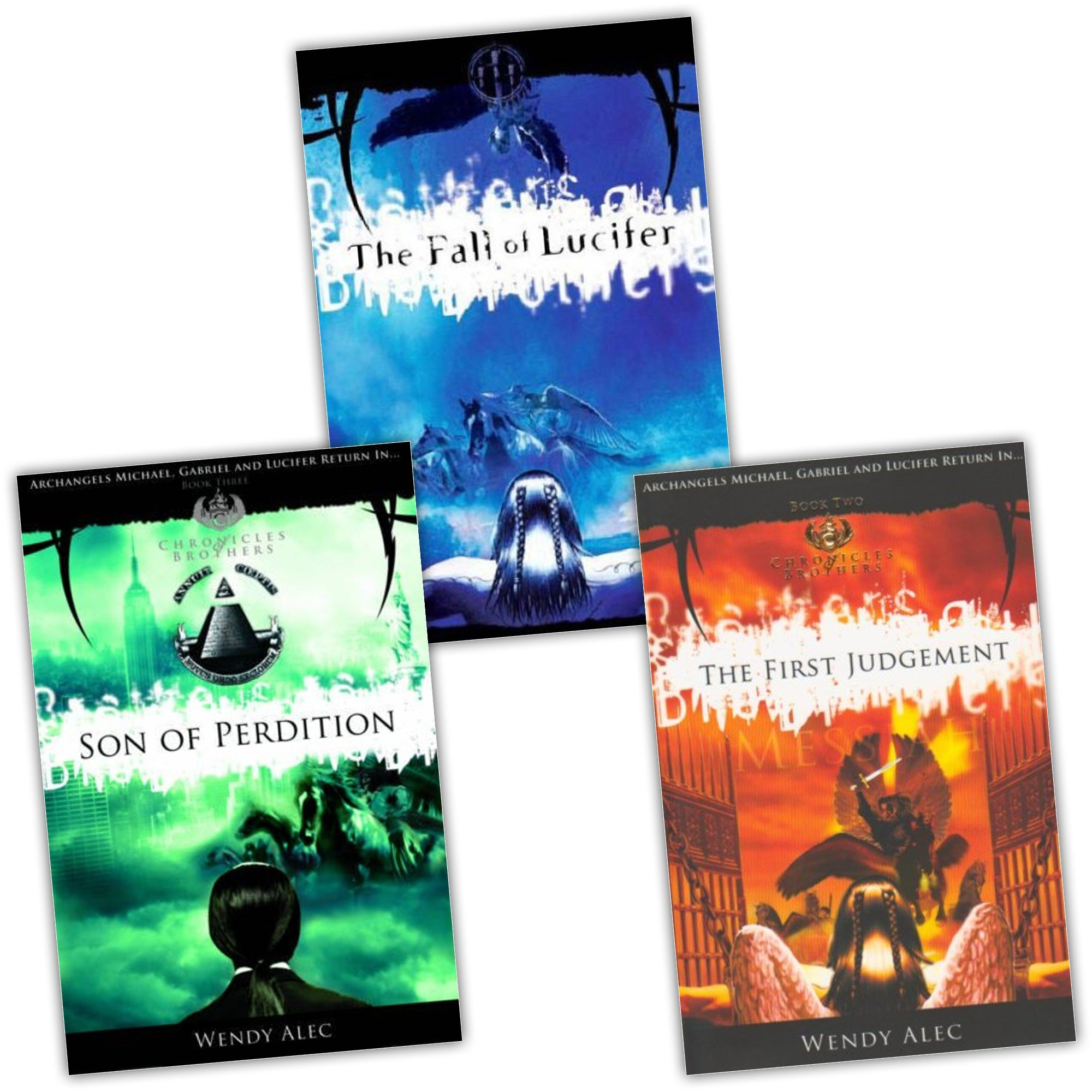 Wendy Alec The Chronicles Of Brothers 3 Books Collection Pack Set