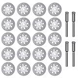 24PCS Diamond Cutting Wheel 22mm with
