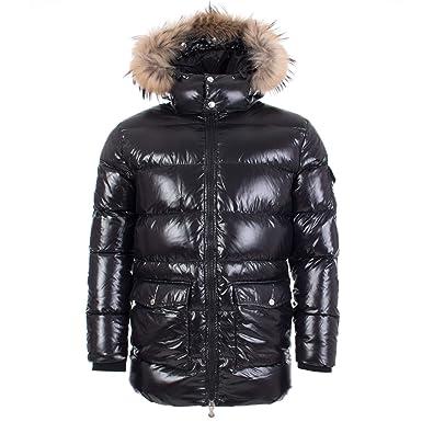 d5ebea9a36 Pyrenex Doudoune Vintage Authentic Jacket Shiny Fur - Black: Amazon ...