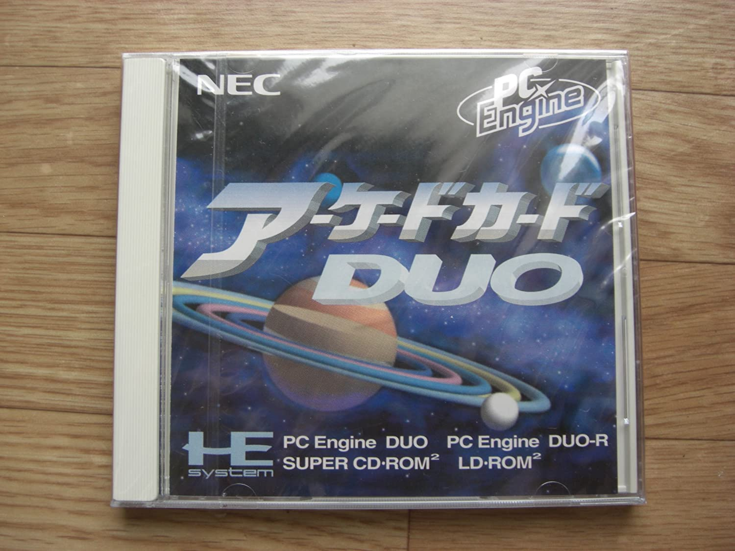 Amazon com: Arcade Card DUO NEC Core Super Cd Japan Pc Engine Rom