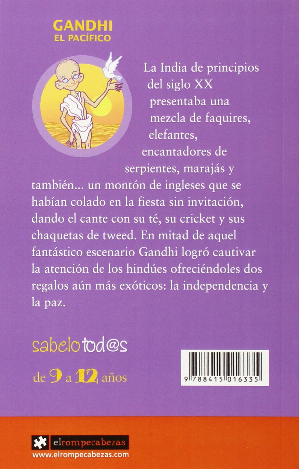 GANDHI EL PACIFICO. ROMPECABEZAS: Gorka Calzada Terrones ...
