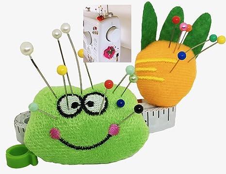 Cojín Pin para máquina de coser - Cojín Sticky Pin 2 piezas ...