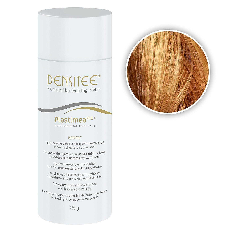Poudre matifiante pour cheveux ANTI CALVITIE & ALOPÉCIE - Poudre capillaire densifiante - DENSITEE, la solution immédiate Masque calvitie, perte de cheveux & racines Microfibres de KÉRATINE NATURELLE Blond Foncé Mascara cheveux White Edition - Norm